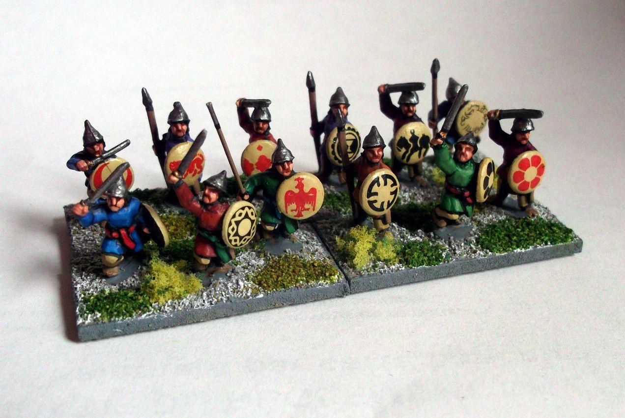 L'armée Sassanide à AdG : Les Gardes Dailamis.