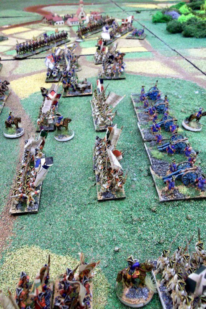 La bataille d'Hastenbeck ..... puis les démos