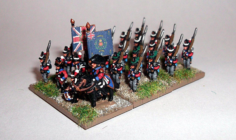 Waterloo 2015 : Bataillon d'infanterie de la KGL.