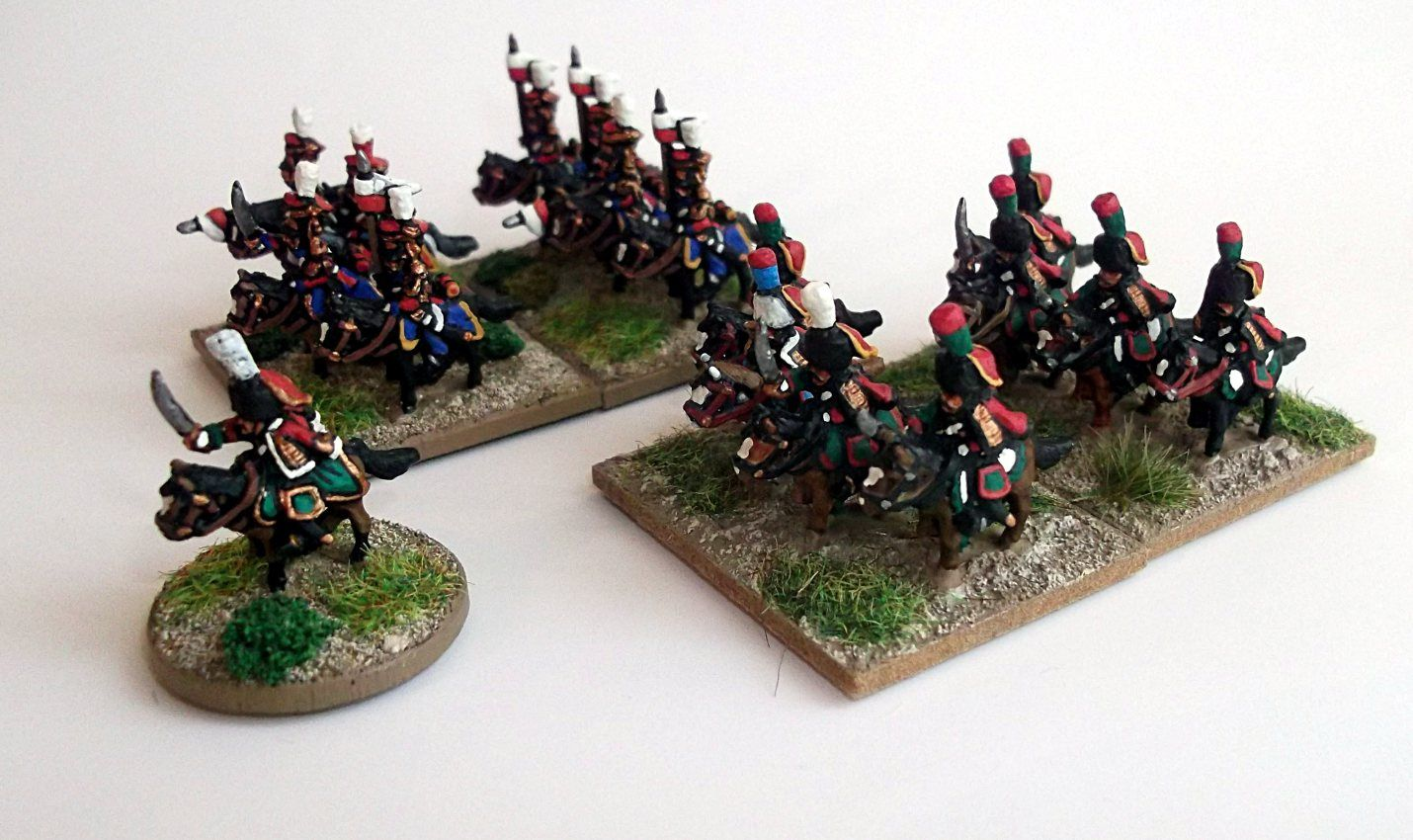 Waterloo 2015 : Les lanciers &quot&#x3B;rouges&quot&#x3B;.