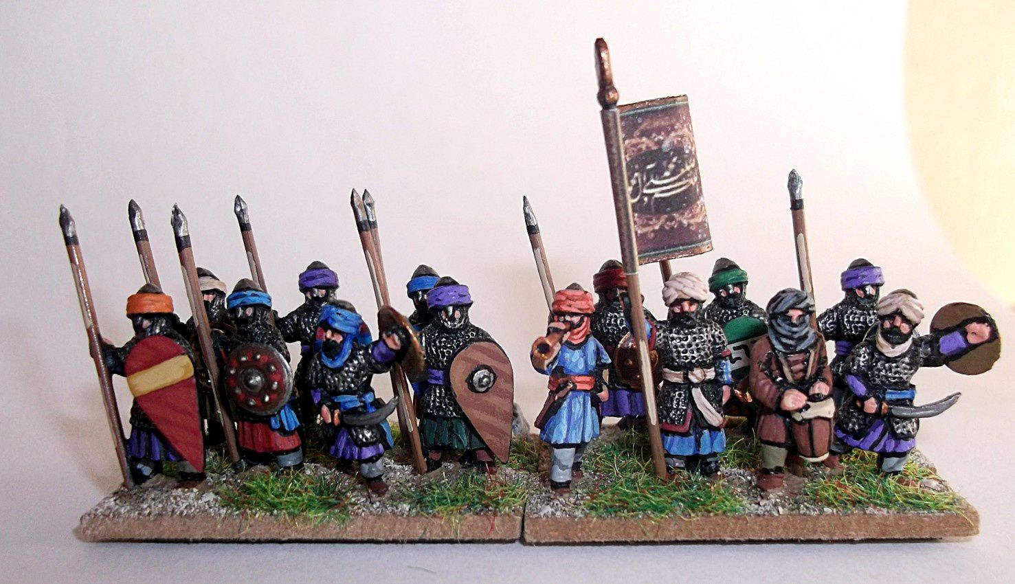 AdG : Les lanciers arabes 15mm.