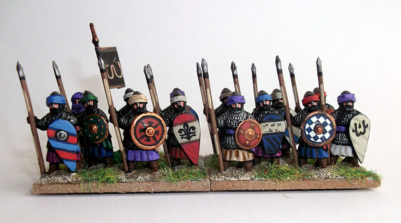 AdG : Les lanciers arabes 15mm (2).