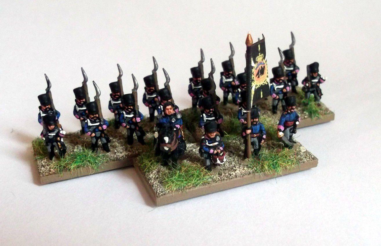 Waterloo 2015 : L'infanterie de ligne prussienne (6).