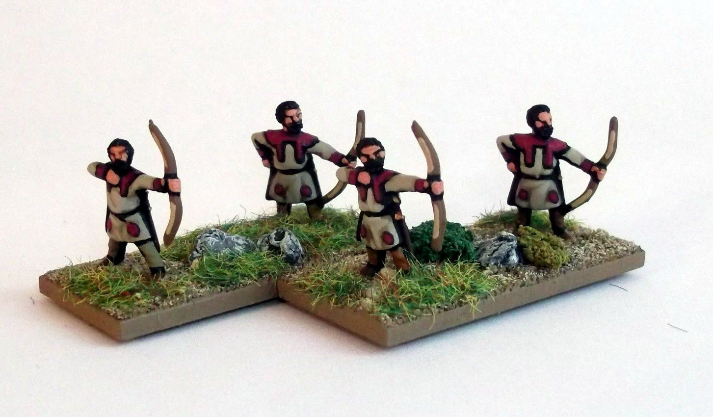 Infanterie légère arc - figurines Essex miniatures.