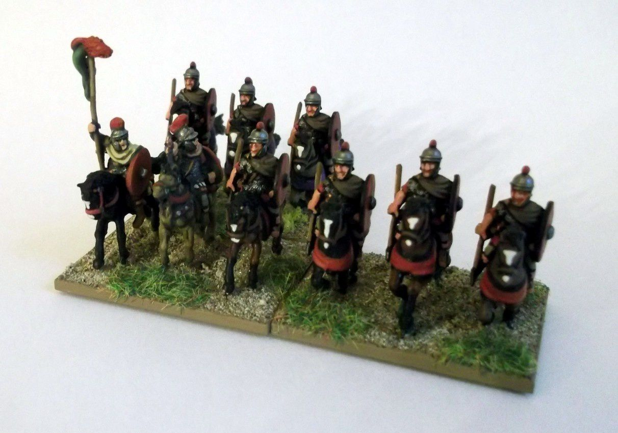 Figurines Essex (cavaliers) et Gladiator (commandement)