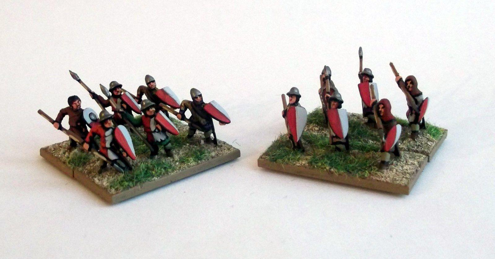 Les lanciers moyens (Essex miniatures)