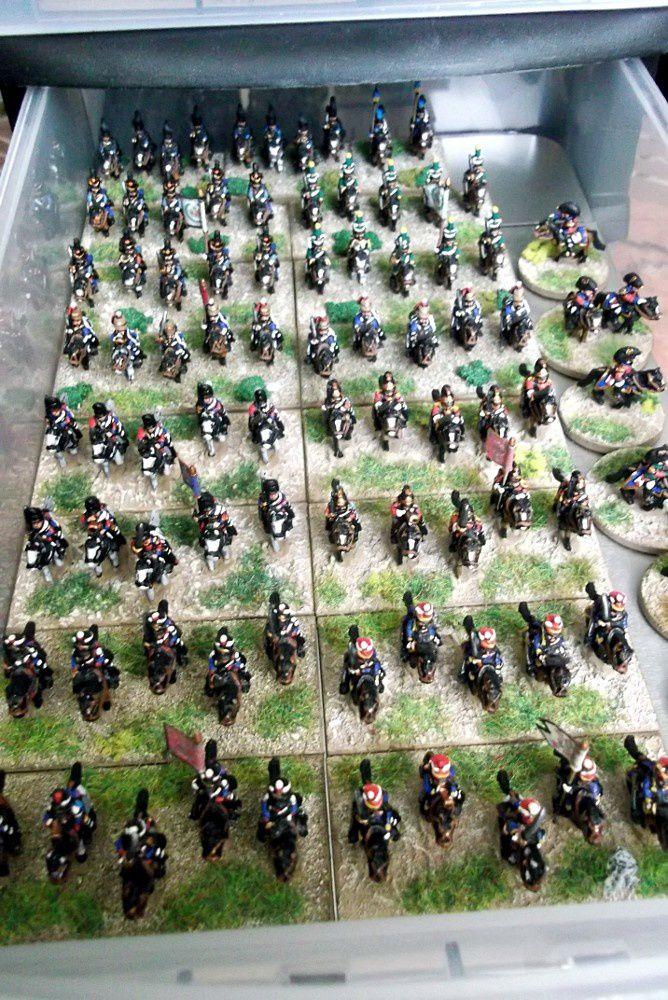 2ème étage : Toutes les troupes montées, anglaises et alliées....ainsi que des généraux