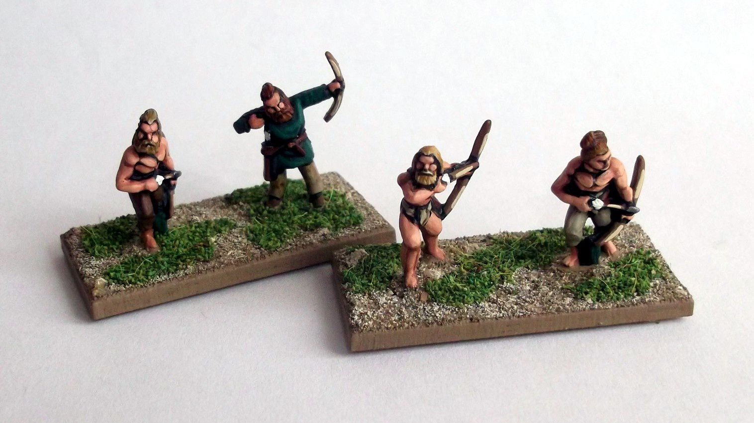 Archers et javeliniers Germains 15mm.