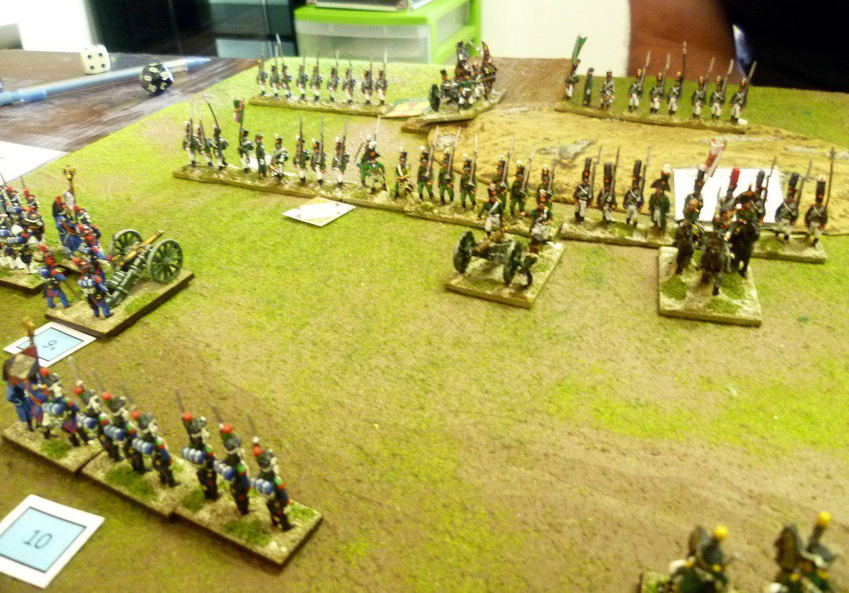 Seconde rencontre contre les grenadiers et la Garde Russe de Julien.