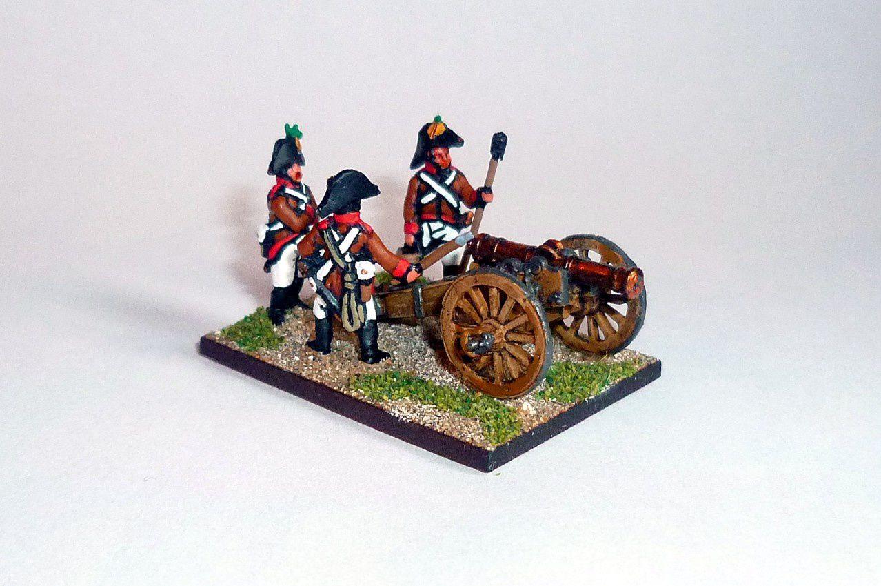 NPoW : Les Autrichiens - l'artillerie (3).