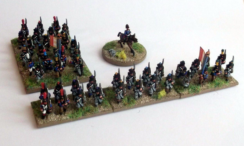 Waterloo 2015 : Brigade d'infanterie française.