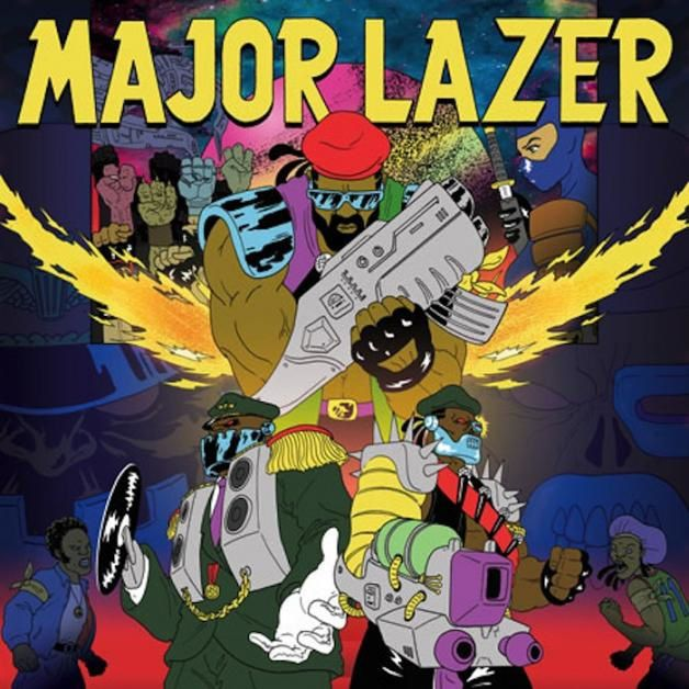 Clip : Major Lazer ft. Peaches &amp&#x3B; Timberlee - Scare Me