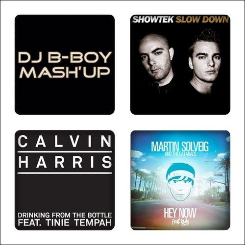 Mash Up : Showtek vs. Calvin Harris vs. Martin Solveig - Down From The Bottle Now (DJ B-Boy Mash'Up)