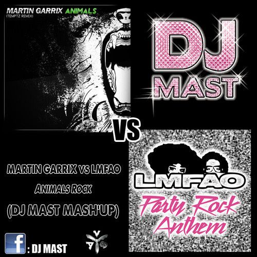 Preview : Martin Garrix VS LMFAO - Animals Rock (DJ Mast Mash'up)