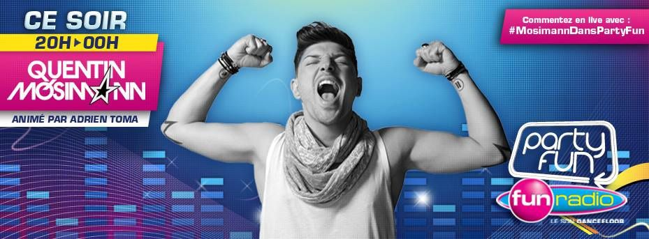 Podcast : Quentin Mosimann - Party Fun (7/09/13)