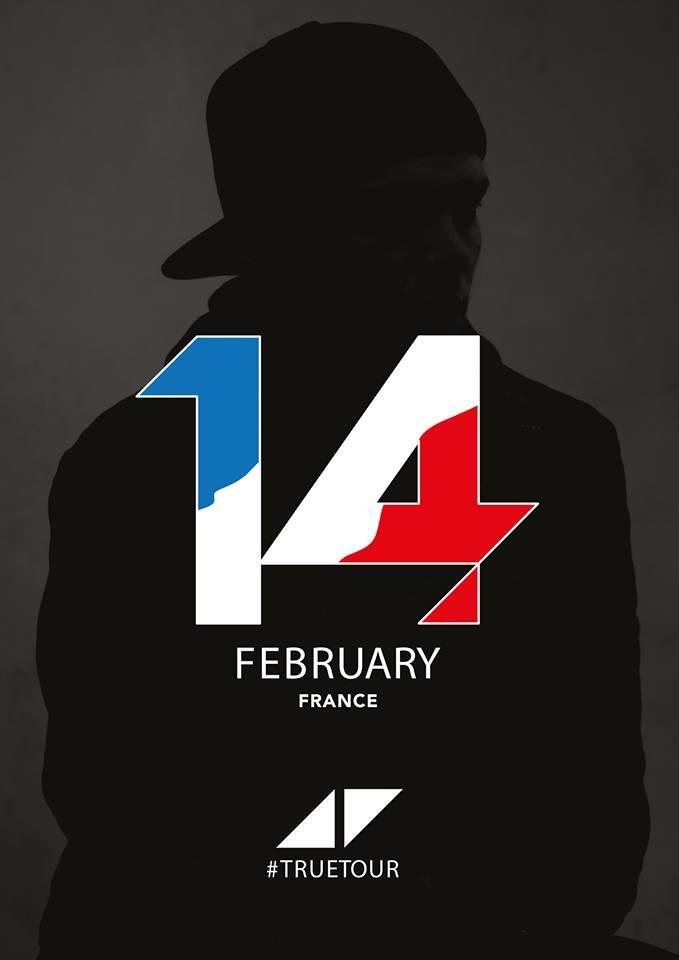 Info : Avicii en France le 14 Février !