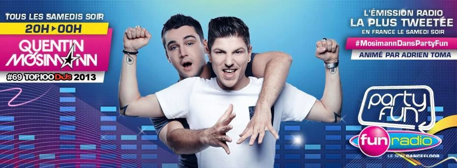 Podcast : Quentin Mosimann - Party Fun (26/10/13)