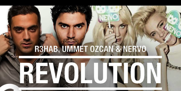 Preview : R3hab &amp&#x3B; NERVO &amp&#x3B; Ummet Ozcan - Revolution