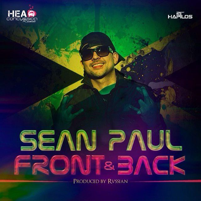 New : Sean Paul - Front &amp&#x3B; Back