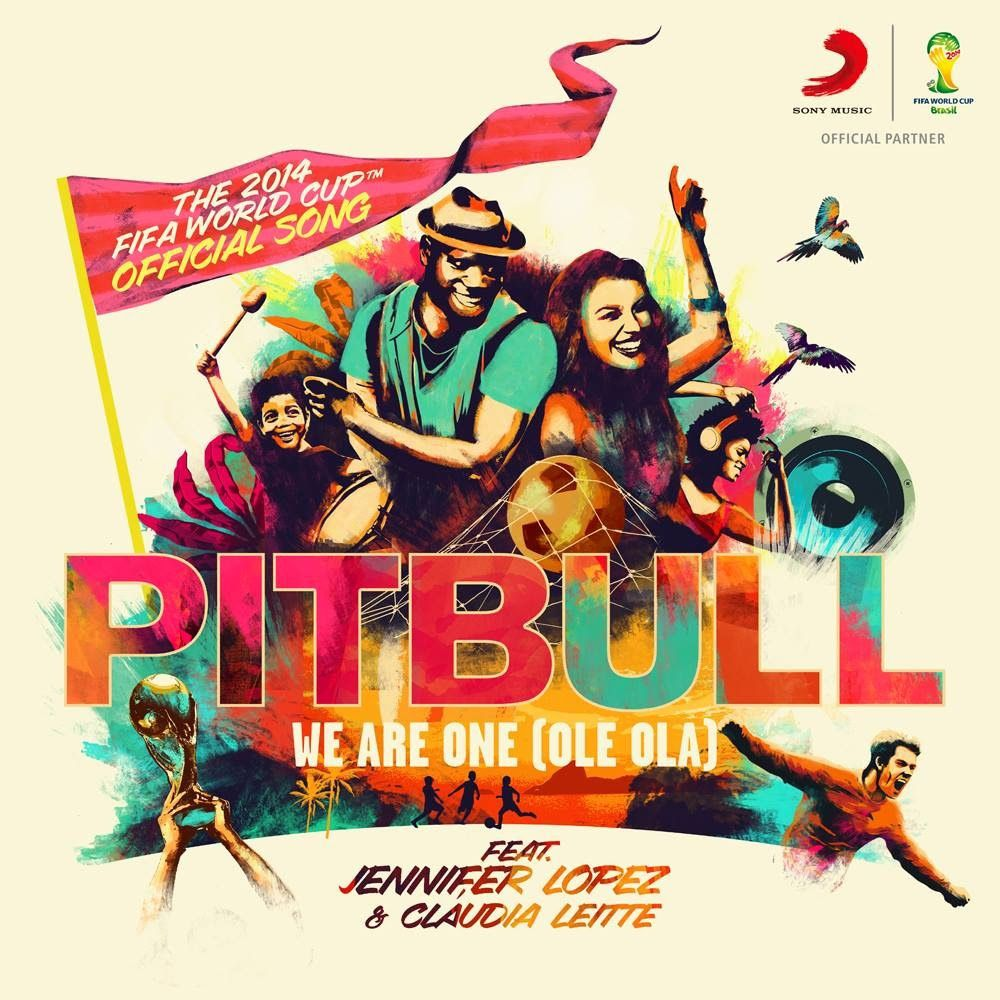New : Pitbull &amp&#x3B; Jennifer Lopez ft. Claudia Leitte - We Are One (Ole Ola)