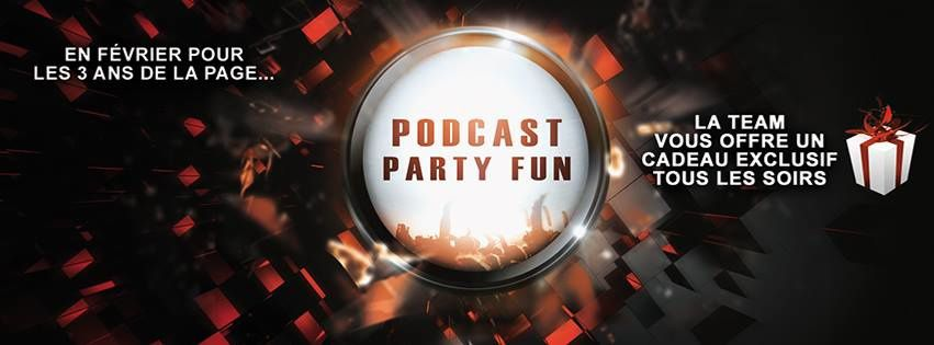 Mix : Nils Van Zandt - Podcast Party Fun - 06/02/16