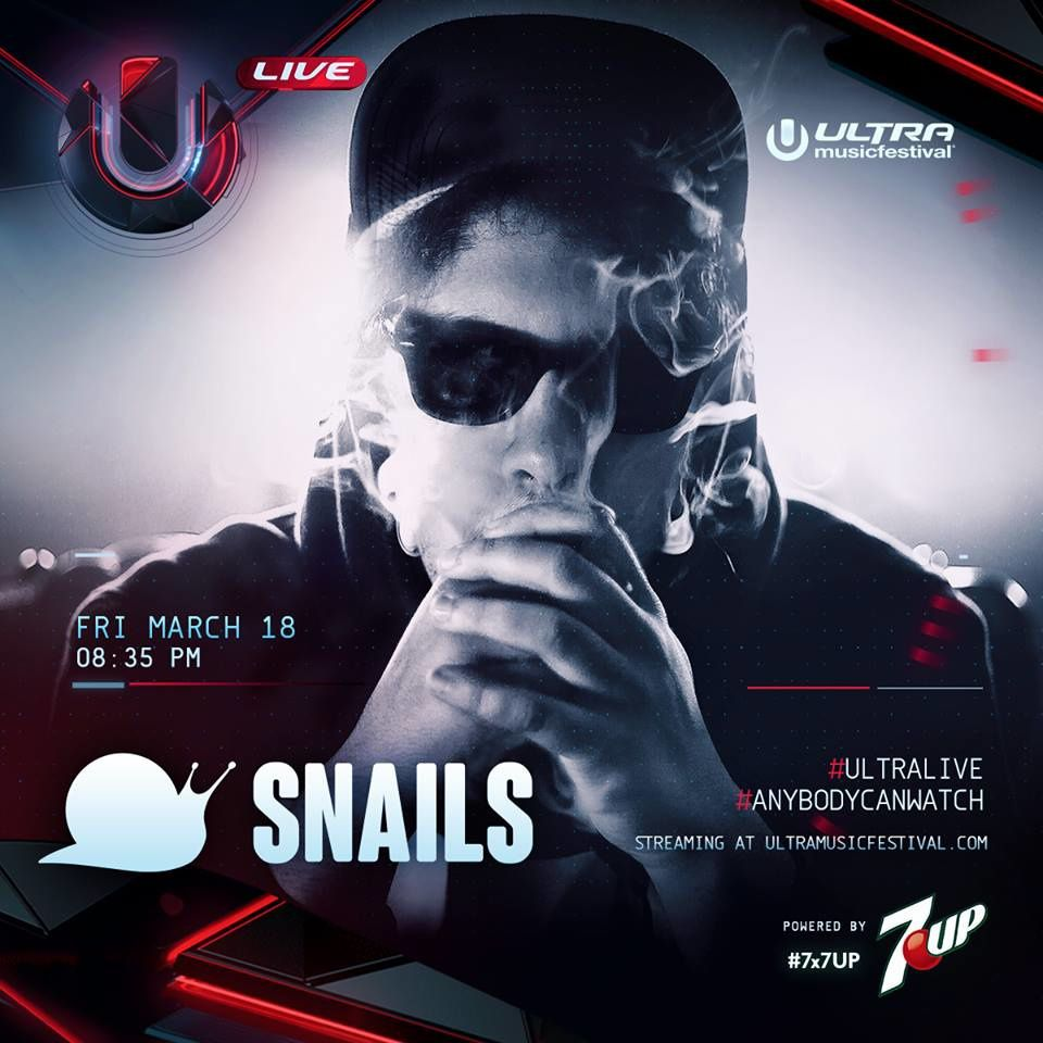 Podcast : Snails - UMF Miami 18/03/2016