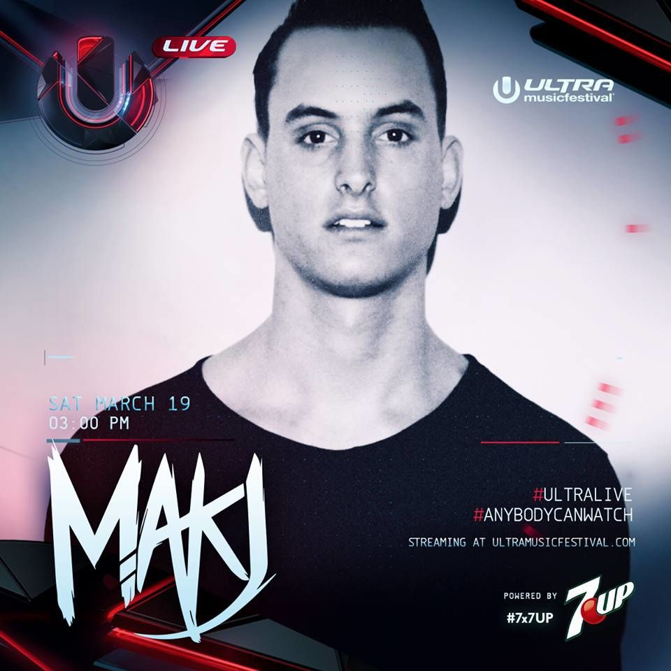 Podcast : MAKJ - UMF Miami 19/03/2016
