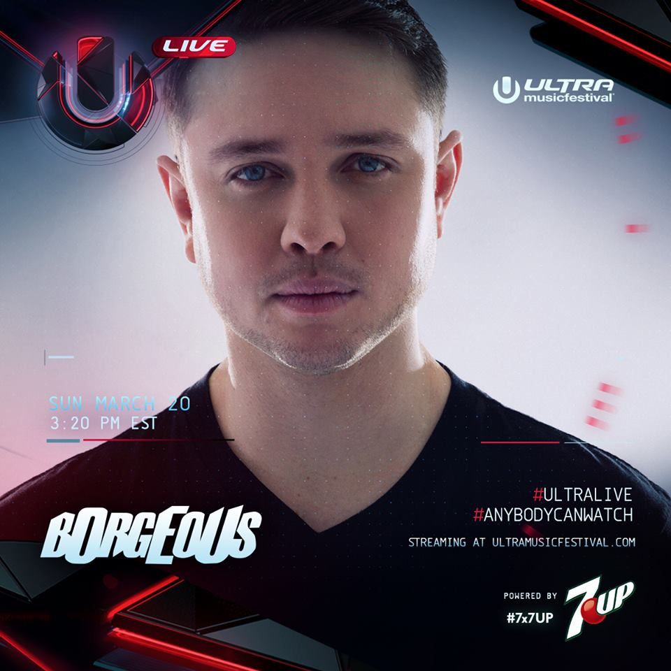 Podcast : Borgeous - UMF Miami 20/03/2016