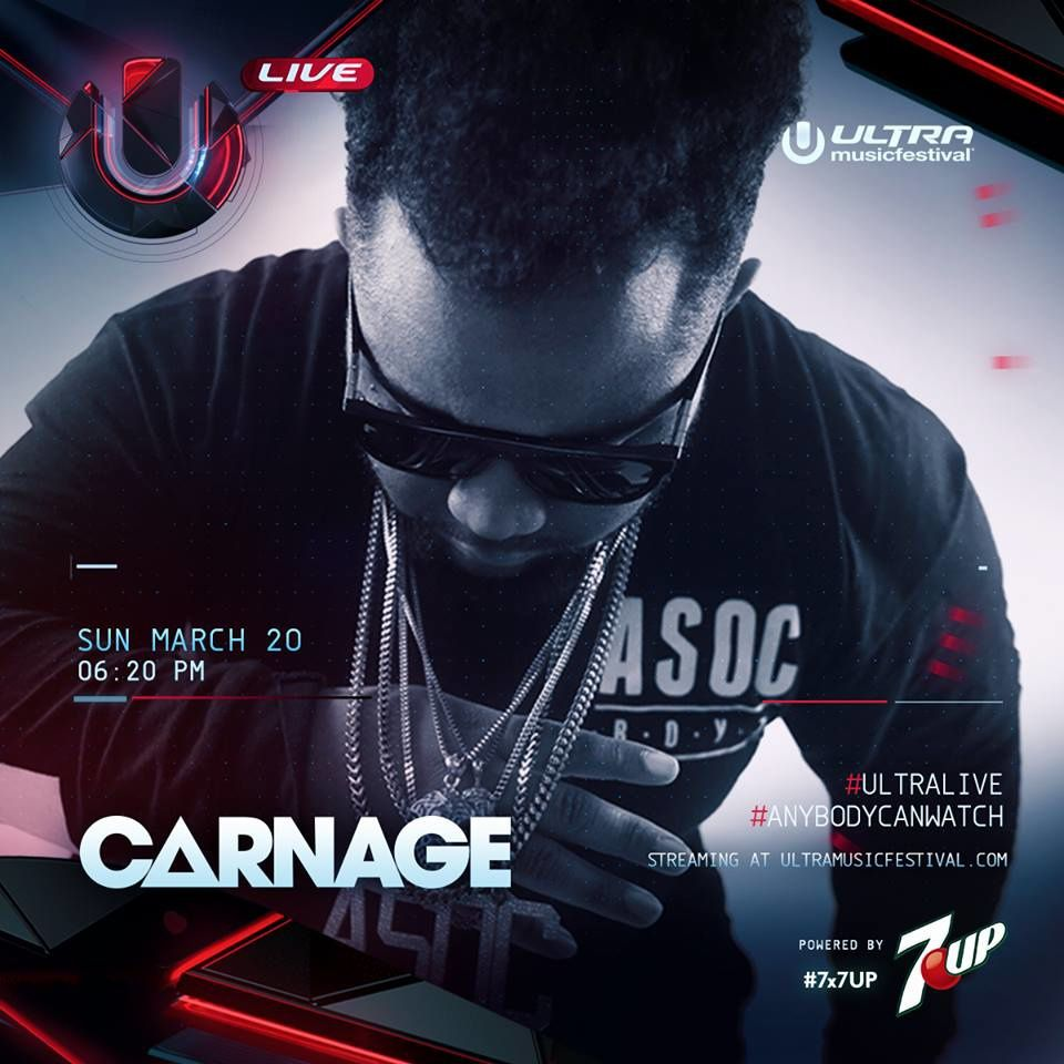 Podcast : Carnage - UMF Miami 20/03/2016