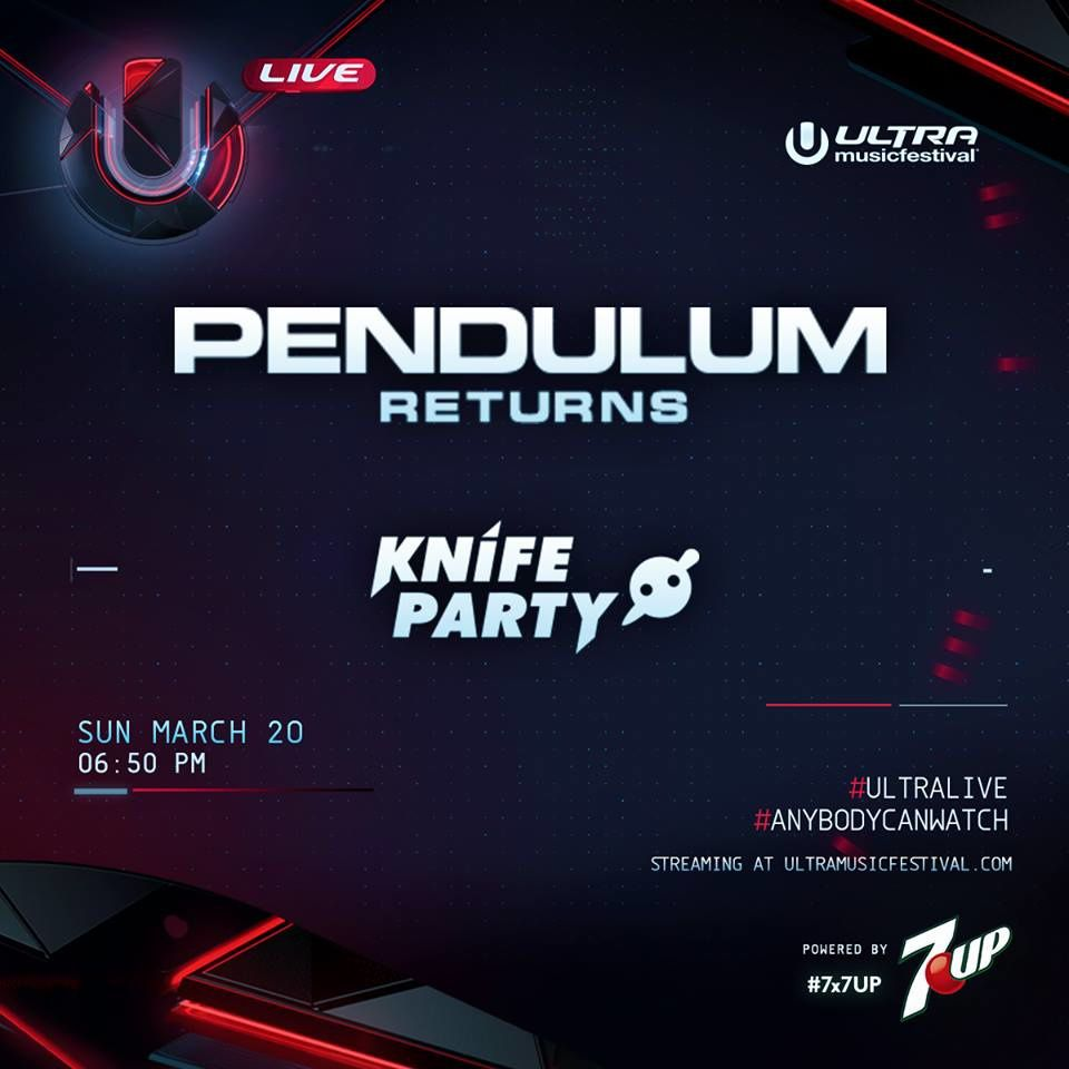 Podcast : Knife Party &amp&#x3B; Pendulum - UMF Miami 20/03/2016