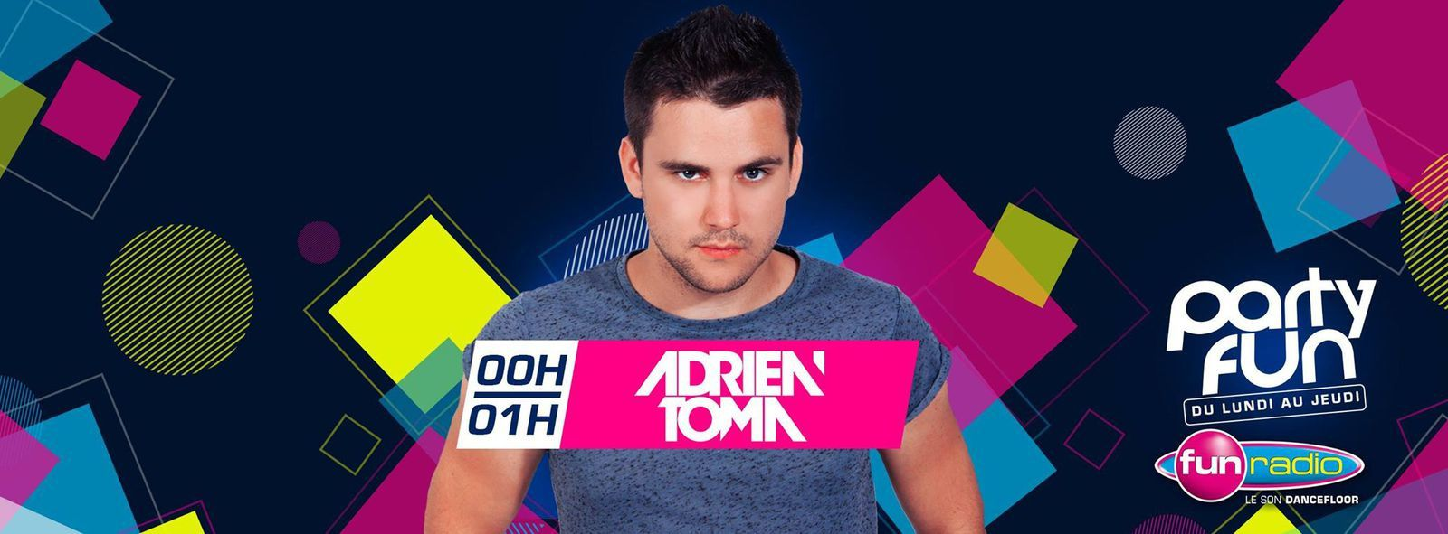 Podcast : Adrien Toma (Party Fun Spécial UMF) 22-03-2016
