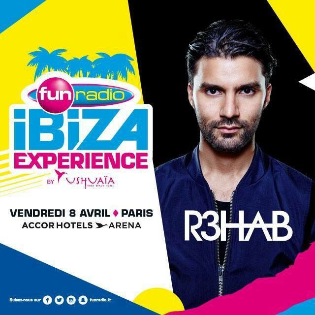 Podcast : R3hab - Fun Radio Ibiza Expérience
