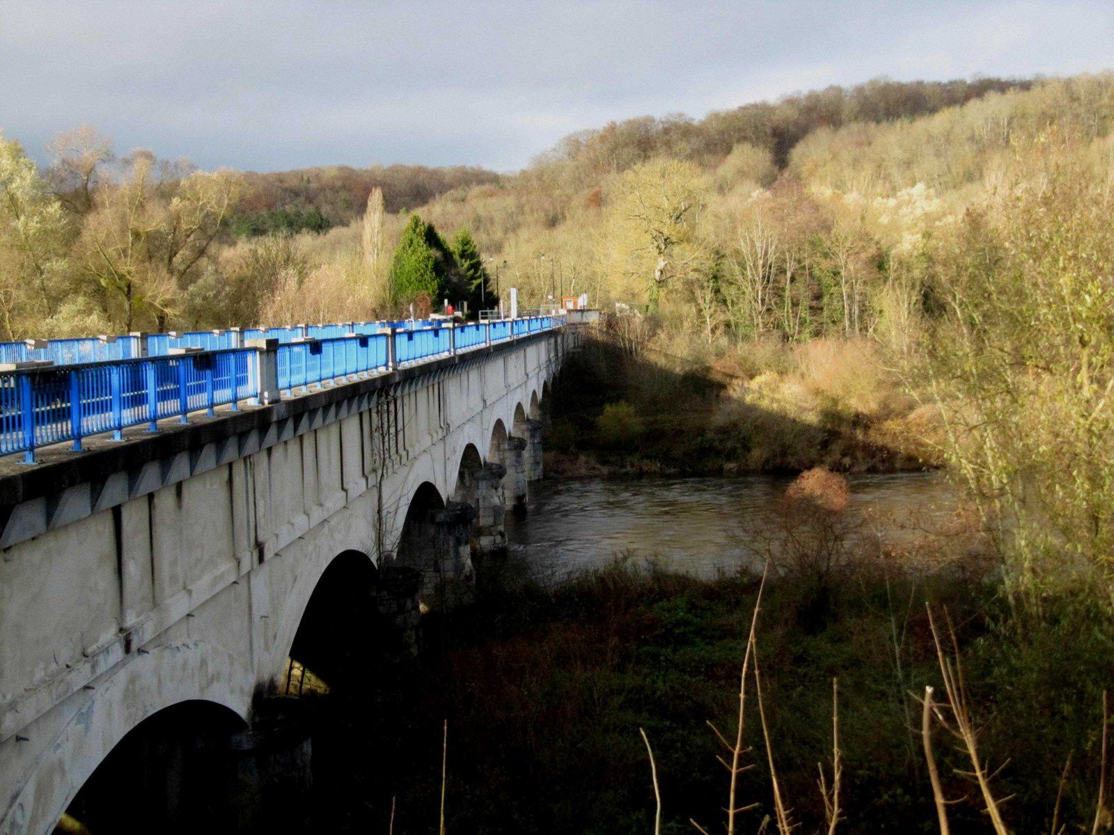 Deux ponts sur la Moselle