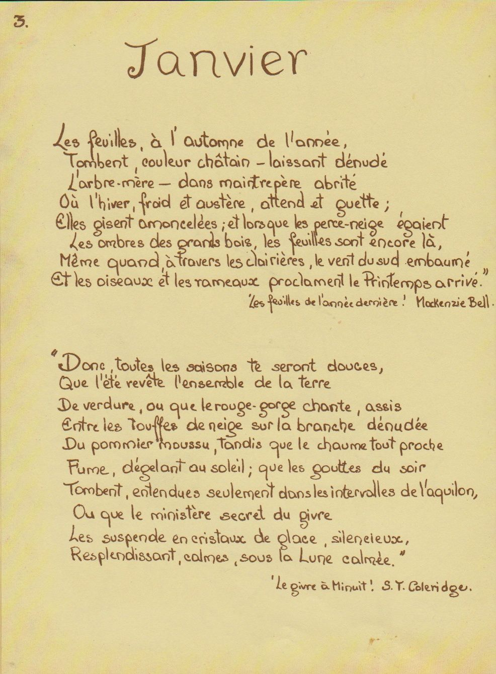 Journal champêtre d' Edith Holden ( 1906 )
