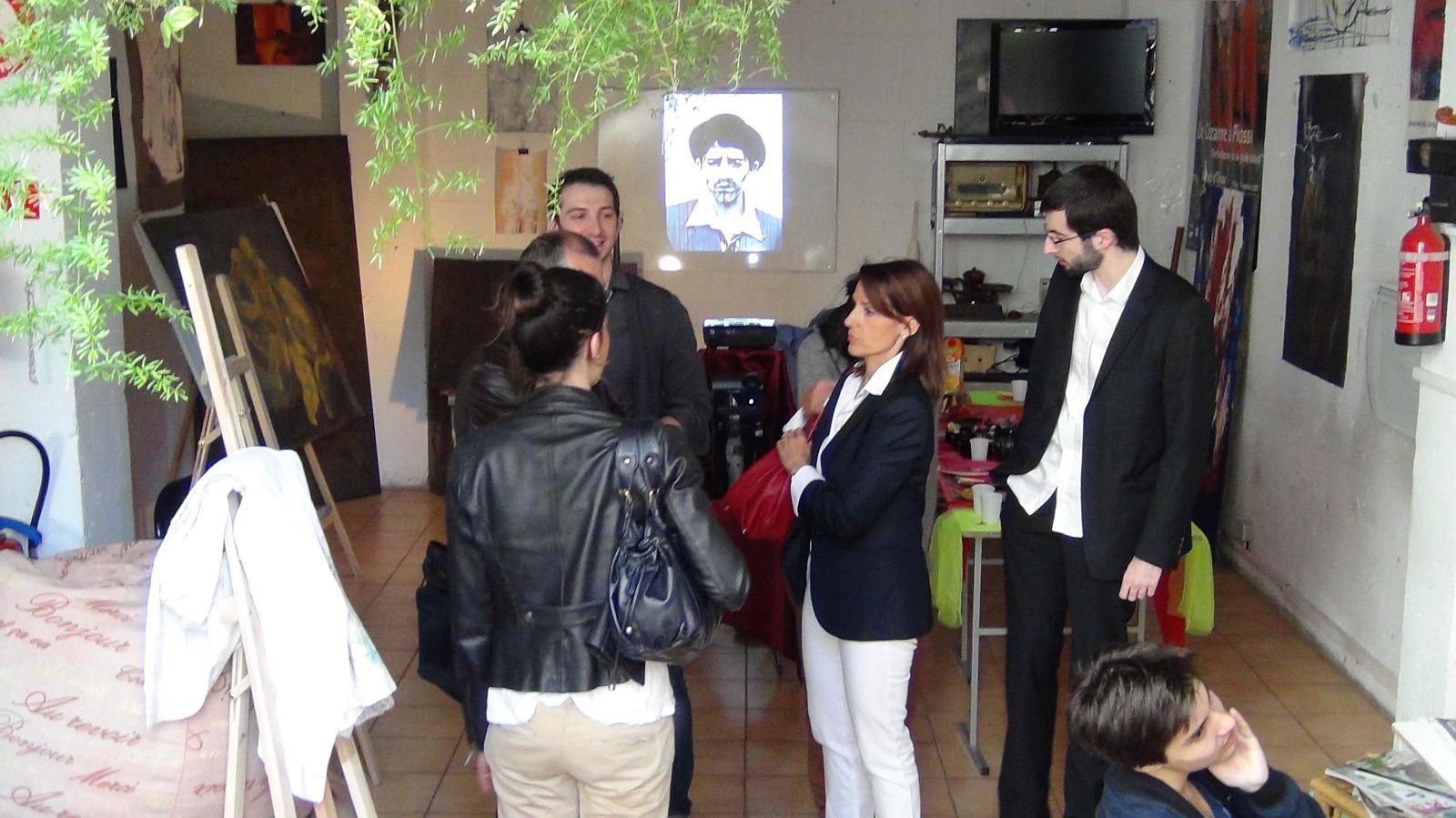 Classe prépa art ensad ensba ensapc : avis de 2ème expo des étudiants de Koronin
