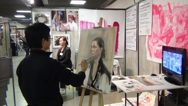 Atelier pr pa art ensad inp ensba gobelins salon for Salon formation artistique paris