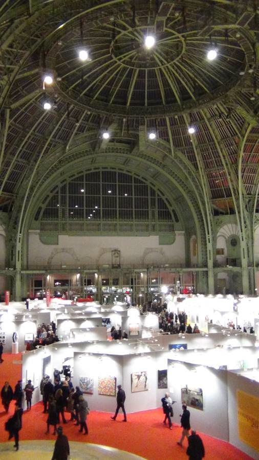 Le salon Art en Capital, dans le prestigieux Grand Palais.