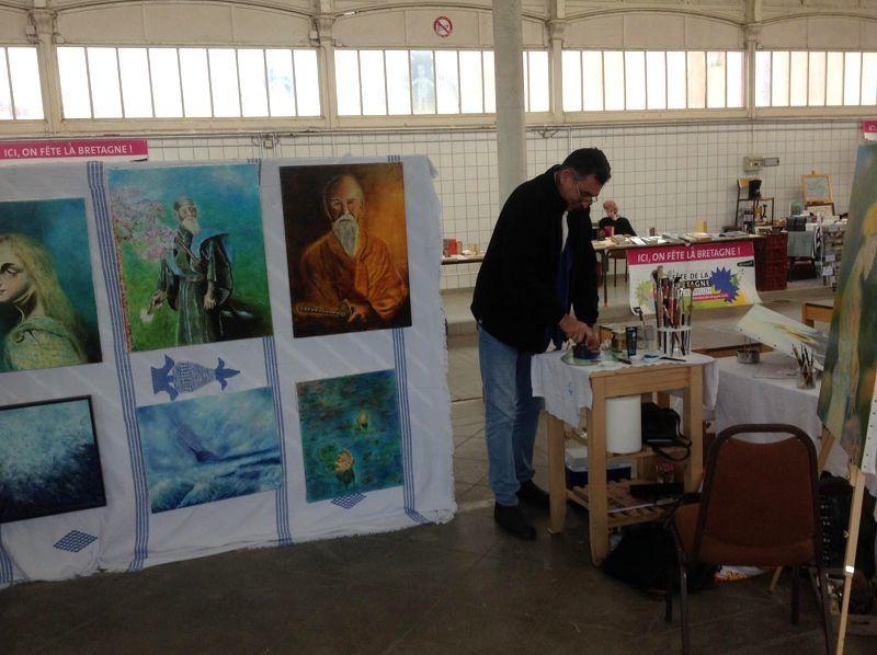galerie en ligne art contemporain : Dzyan Eric Jarque à Dol de Bretagne