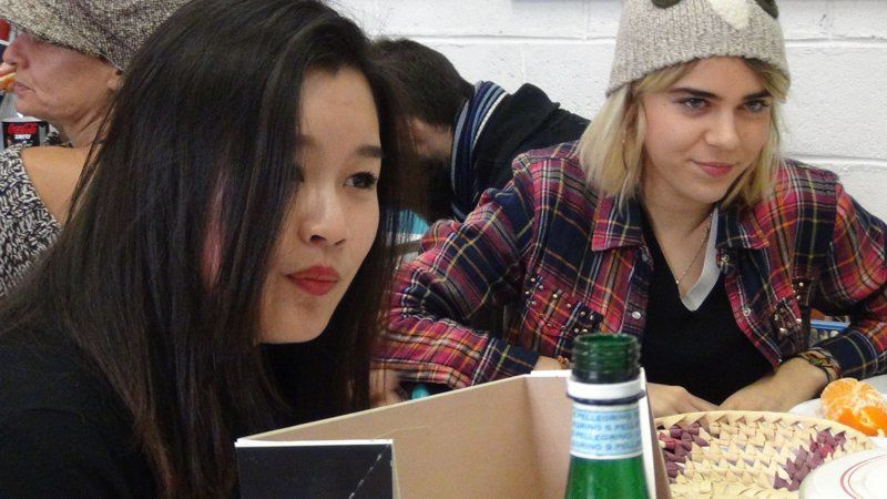Xilun (prépa ENSAPC) & Léonore (prépa ENSA, que nos lecteurs connaissent bien pour son journal) - promo 2013/2014