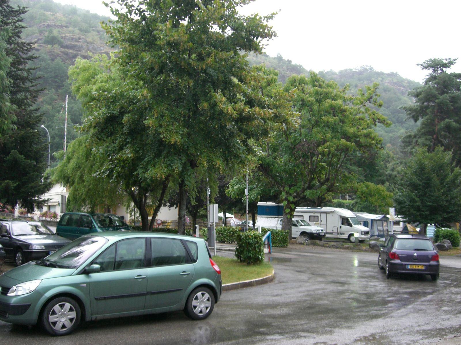 Traversée des Pyrénées 2007 étape 7 Ax les Thermes Céret