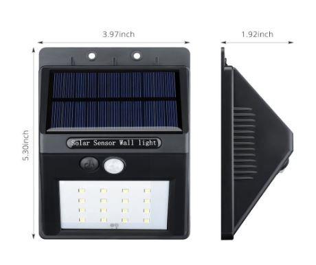 [Test] Lampe solaire extérieure VicTsing à LED avec Capteur