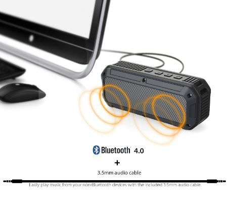 [Test] Enceinte Bluetooth Portable Aukey