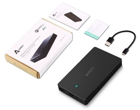 [Test] Batterie Portable Aukey 20000mAh