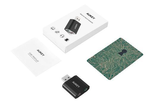 [Test] Carte son externe USB Aukey