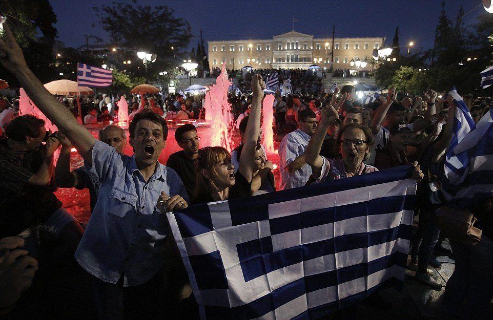 Référendum en Grèce : Large victoire du &quot&#x3B;oxi&quot&#x3B;, le &quot&#x3B;non&quot&#x3B; grec, avec 61,31% des voix