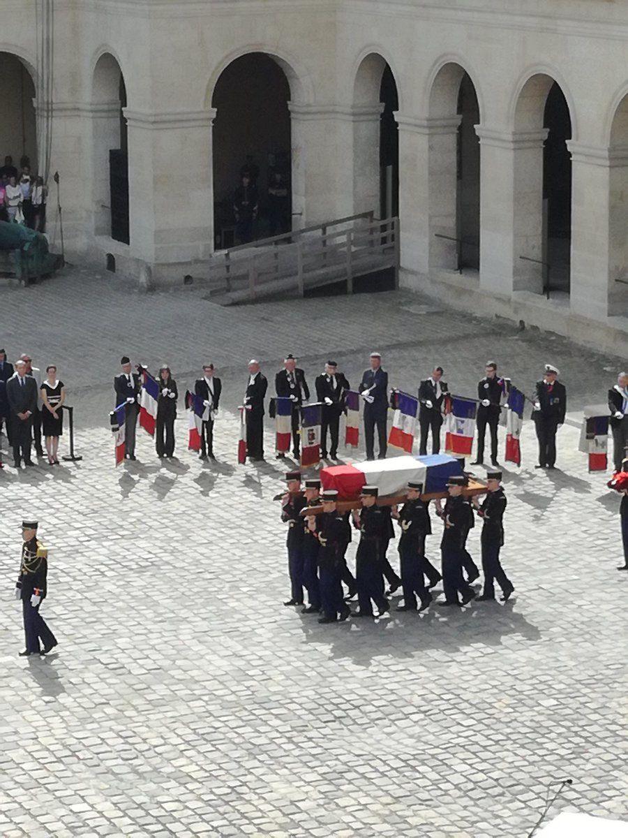 Simone Veil : l'hommage de la nation