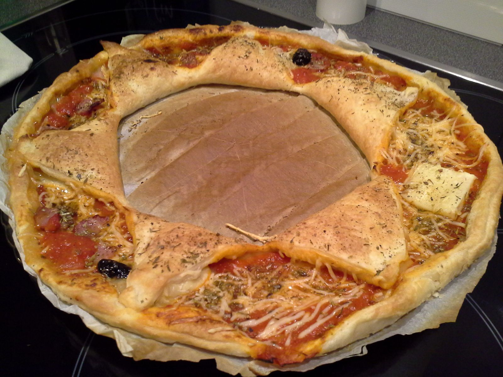 pizza couronne