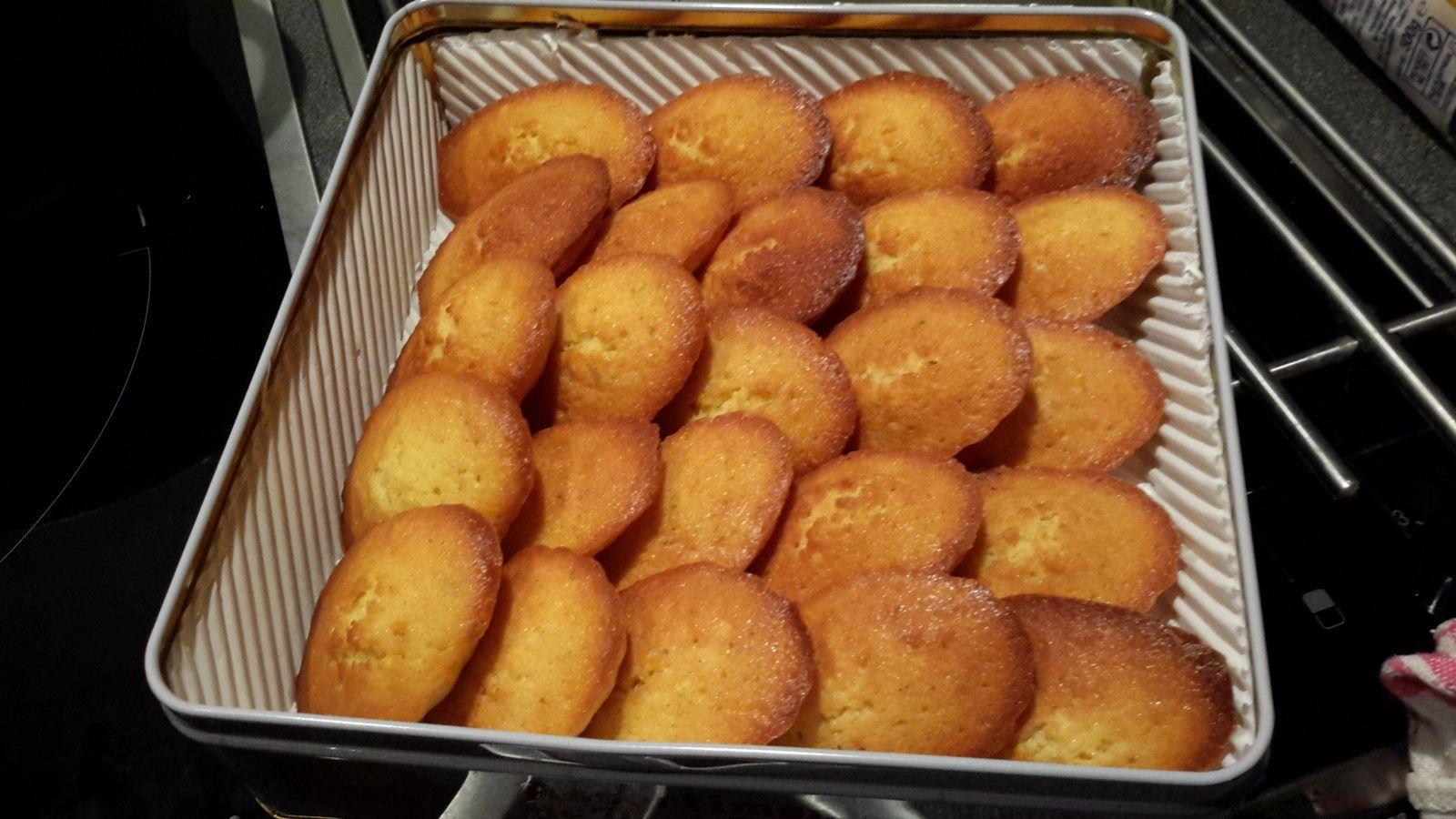 les madeleines de Cyril Ligniac &quot&#x3B;dans la peau d'un chef&quot&#x3B;