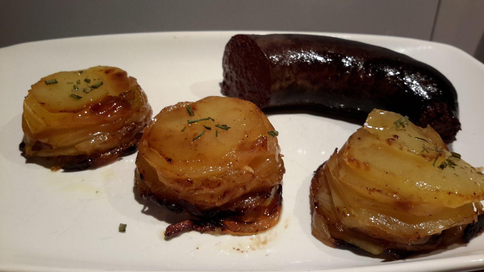 Dômes de pommes de terre