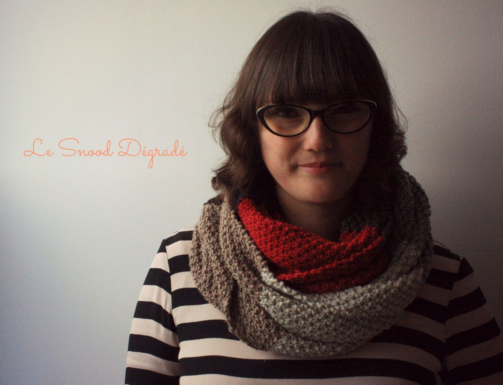 Le snood dégradé